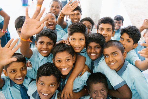 SCUTE group of children